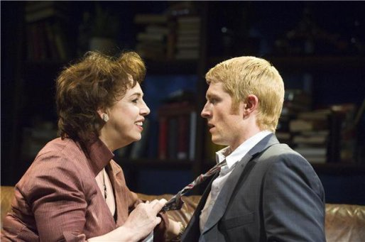 "Nick in ""Who's Afraid of Virginia Woolf"" 2009 (© Dundee Rep Theatre)"