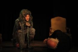 """Jacob Marley in """"A Christmas Carol"""" 2013 (© Hannah Neuhuber)"""